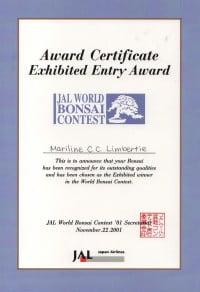 Awart Certificate