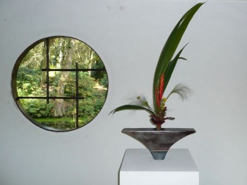 Ikebana C.Willems/ Ikenobo School