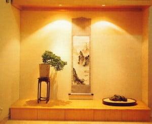 Een prachtig voorbeeld van een Tokonoma